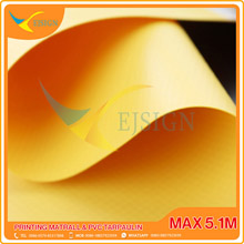 LAMINATED PVC TARPAULIN  EJLP005-5 M YELLOW