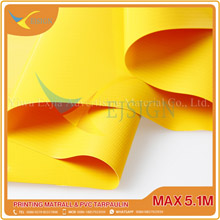 LAMINATED PVC TARPAULIN  EJLP003-1 G  YELLOW