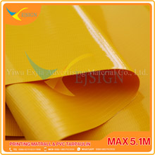 LAMINATED PVC TARPAULIN  EJLP002 G YELLOW
